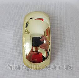 Элимент декора для одежды пластик золото 70-0043