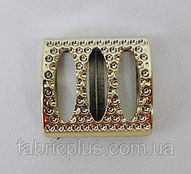 Элимент декора для одежды пластик золото 70-0023