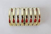 Элемент декора для одежды пластик золото 70-0017