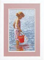 Набор для вышивания «Рыбалка»