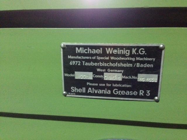 Чотирибічний станок Weinig Unimat 17 -1