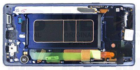 Дисплей с сенсором Samsung N960 Galaxy Note 9 blue/голубой, GH97-22269B, фото 2