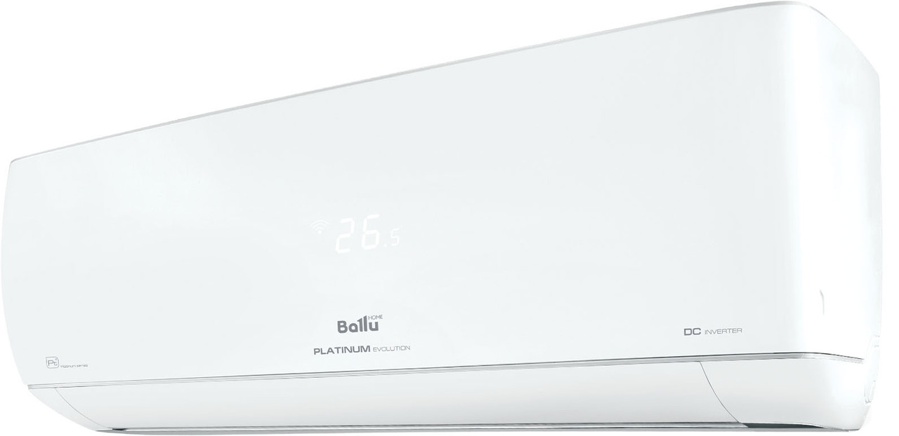 Кондиціонер Ballu Platinum Evolution DC Inverter R-32 EU A+++ BSUI-18HN8