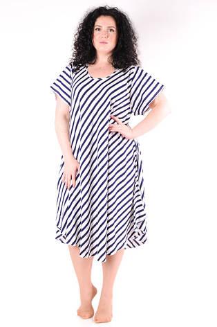 Летнее платье в полоску 1236-3, фото 2