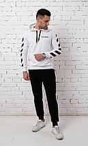 Мужской черно-белый спортивный костюм двойка Of White , фото 3