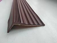Самоклеющаяся антискользящая накладка на ступени (Коричневая), фото 1