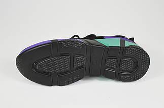 Кроссовки женские замшевые разноцветные Lonza 35082, фото 3