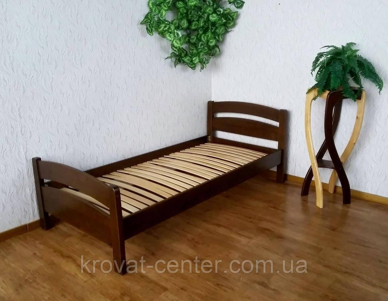 """Кровать односпальная из натурального дерева """"Марта"""""""