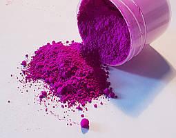 Пигмент для силикона порошковый, мелкодисперсный.Цвет- розовый фуксия