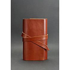 Кожаный блокнот (Софт-бук) 1.0 Коньяк