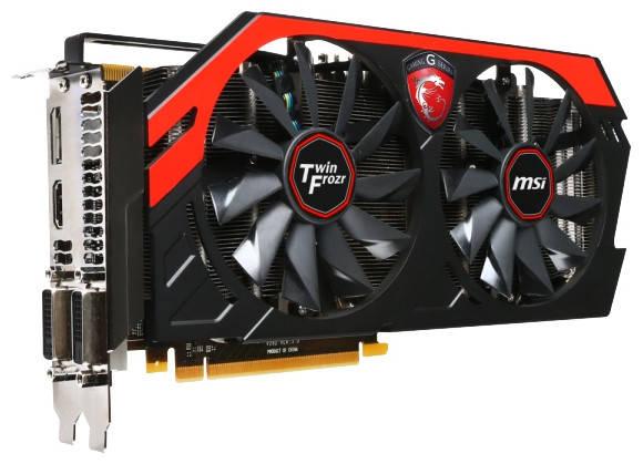 Видеокарта MSI GeForce GTX770 2GB DDR5, 256 bit, N770 TF 2GD5/OC, PCI-E 3.0, фото 2