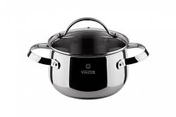 Кастрюля с крышкой VINZER Culinaire series 18 см 2,4 л (89166)