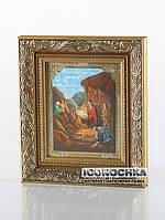 Рождество Христово (икона в золотом багете - образ №3)
