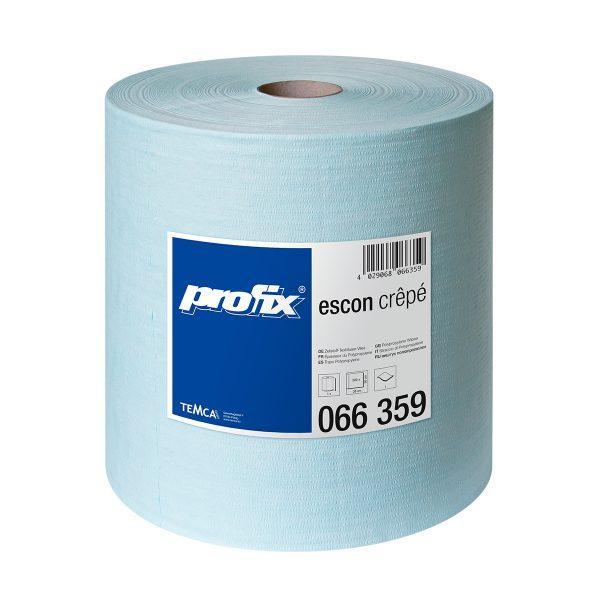 Салфетки протирочные в рулоне TEMCA Profix Escon Crepe, 30х38см, 500 листов