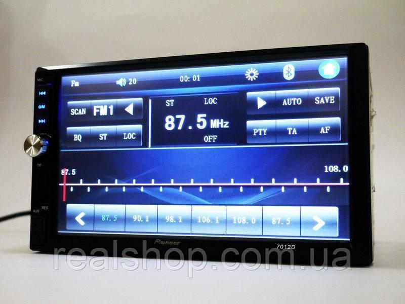 Автомагнитола 2Din 7012 7'Экран USB+Bluetoth