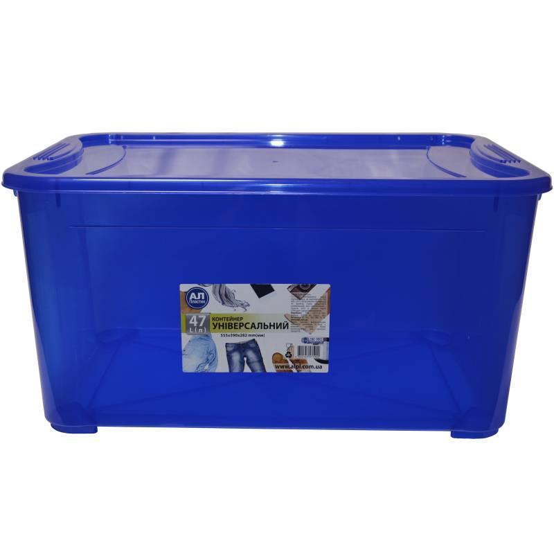 Контейнер Ал-Пластик Easy Box №4 (47л)