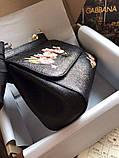 Сумка Дольче Габбана Miss Sicily 25 см натуральная кожа, фото 3