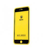 Защитное стекло Baseus Profit Glass Screen 3D ARC для iPhone 7 Plus Black (1102008)