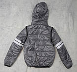 Демисезонная куртка-жилетка для мальчика, фото 4