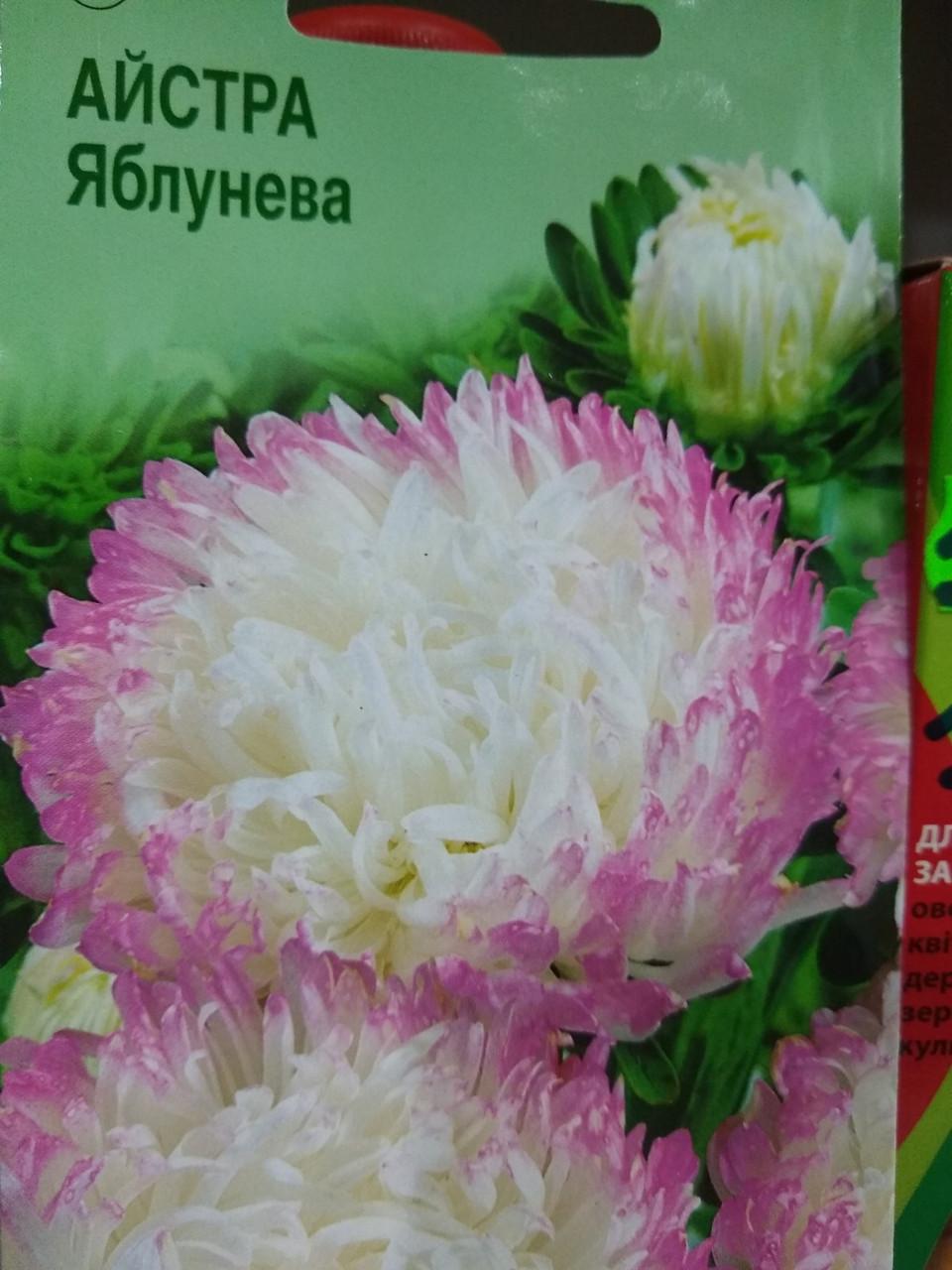 Насіння Астра китайська Яблунева насіння 10 грам в упаковці Україна
