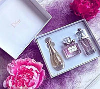 Подарочный набор парфюмерии Christian Dior 3x30 ml