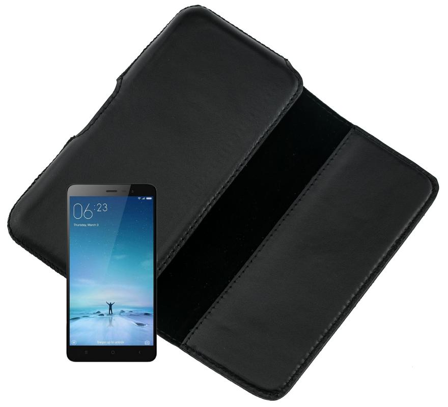 Чехол на пояс Valenta для Xiaomi Redmi Note 3 Черный (C918M8-12)