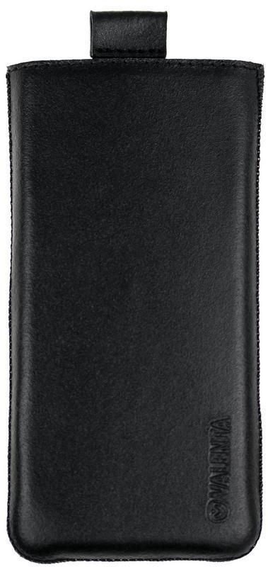 Чехол-карман Valenta кожаный для Meizu 15 Lite Черный (C564LenA780-1)