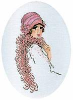 Набор для вышивки крестиком RTO R293 Дама в боа
