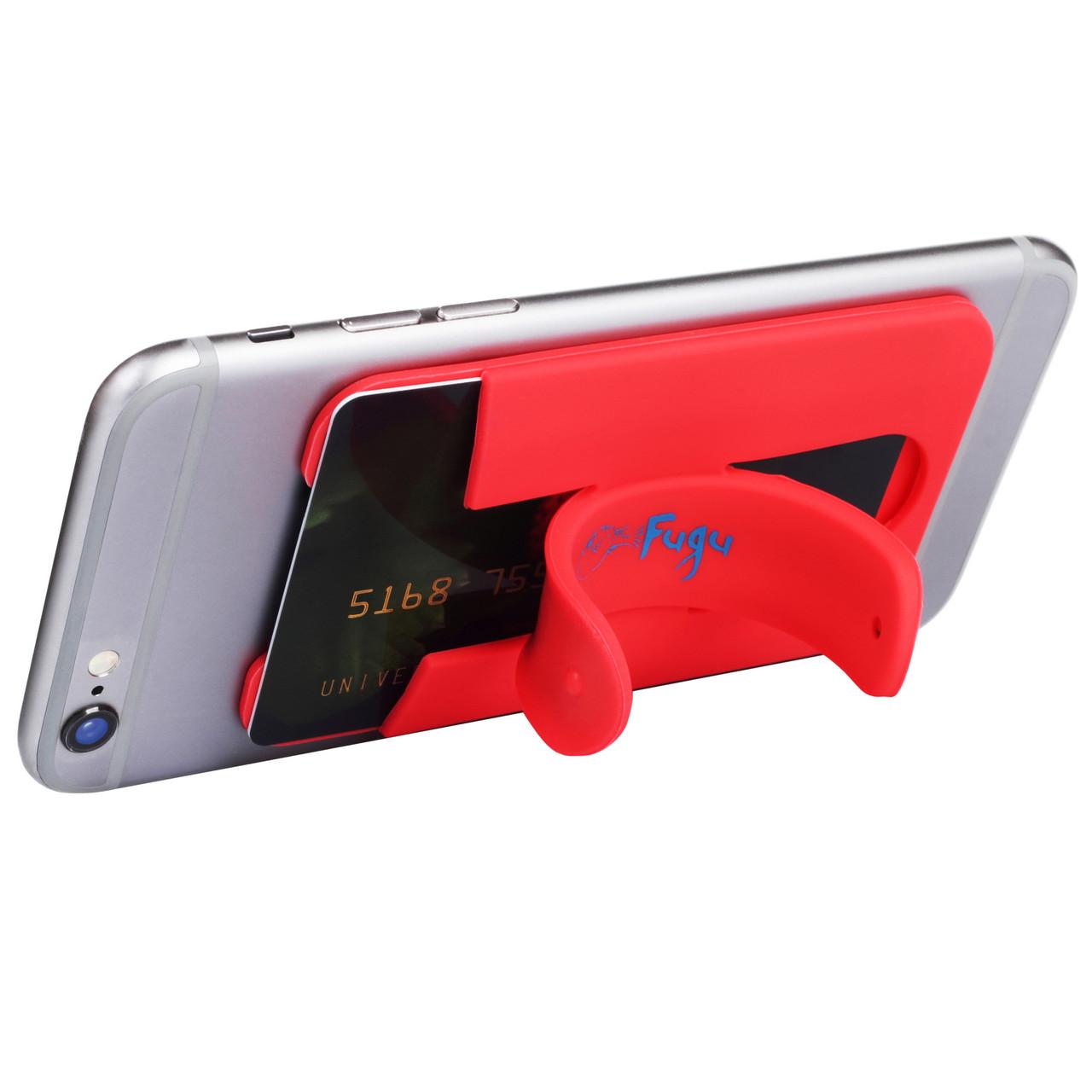 Накладка-карман Fugu с подставкой Red