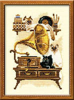 Набор для вышивки крестом Риолис 859 Патефон