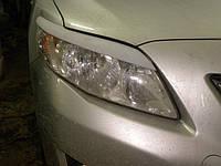 Накладки на фары Тойота Королла (2006- )