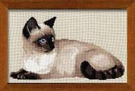 Набор для вышивки крестом Риолис 1066 Тайская кошка