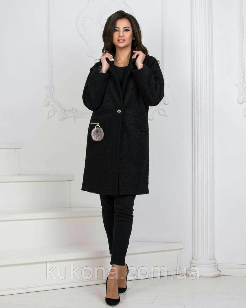 Пальто женское из букле