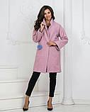 Пальто женское из букле , фото 3