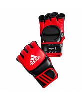 Перчатки для ММА Adidas Leather Red (ADICSG041)