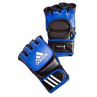 Перчатки для ММА Adidas Leather Blue (ADICSG041)