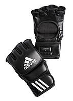 Перчатки для ММА Adidas Leather Black (ADICSG041)