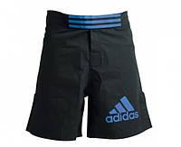 Шорты ММА Adidas Black/Blue (mma-shorts-4)