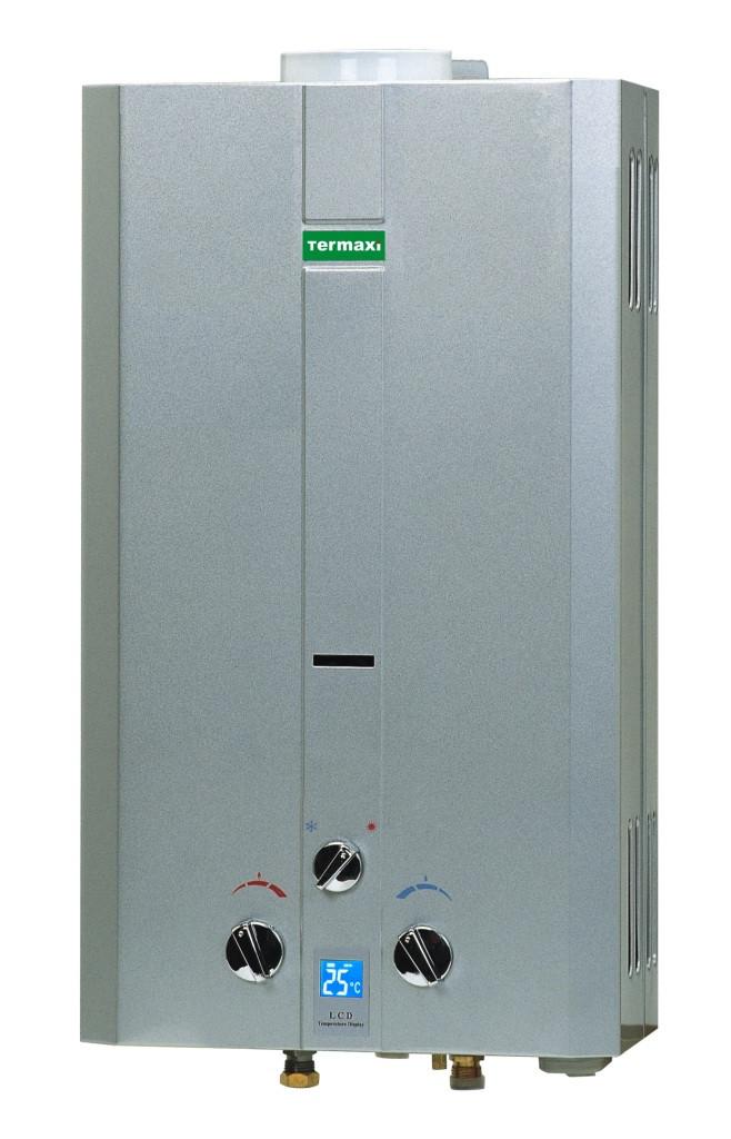 Газовая колонка Termaxi JSD 20 W серебристая