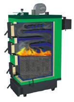 Твердотопливный котел длительного горения SAS UWT (с автоматикой), фото 3