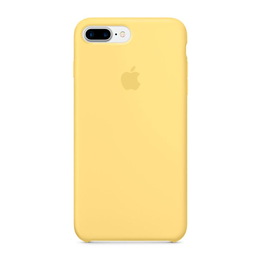 Чехол-накладка Silicone Case для iPhone 7 Plus/8 Plus Желтый (13 519)