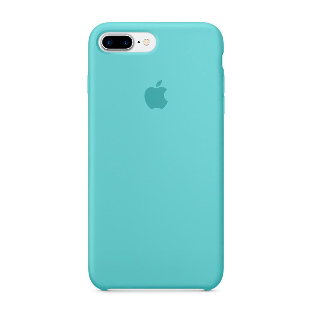 Чехол-накладка Silicone Case для iPhone 7 Plus/8 Plus Бирюзовый (13396)