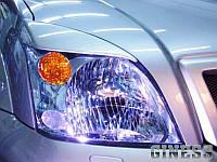 Накладки на фары Тойота Прадо 120 (2003- 2006)