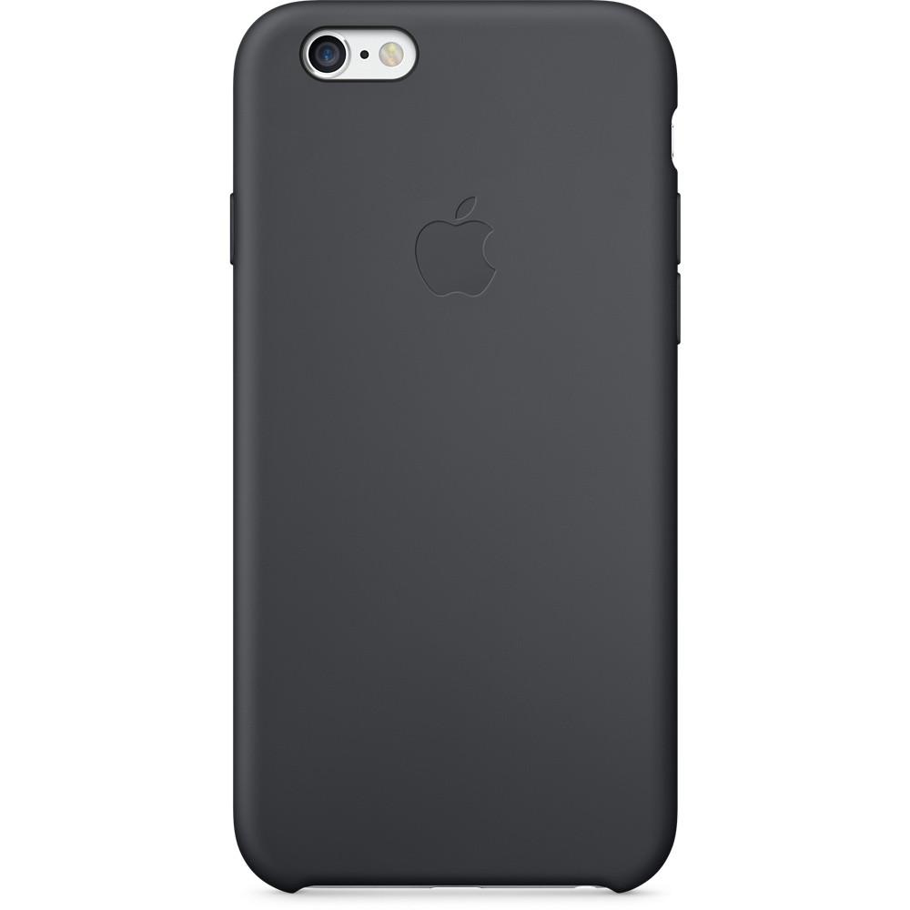 Чехол-накладка Silicone Case для iPhone 6/6s Черный (13374)