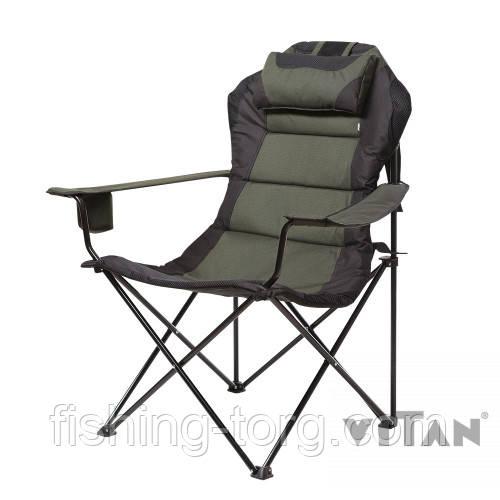 """кресло мастер карп зеленый меланж """" d16 мм"""