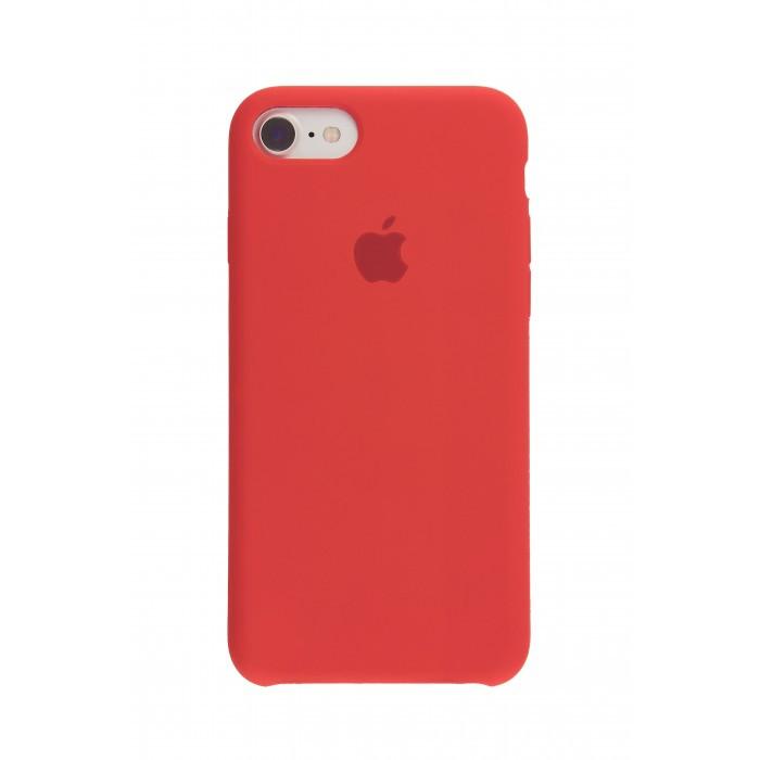 Панель Silicone Case для iPhone 7/8 Red (12856)
