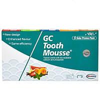 Тус Мус (TOOTH MOUSSE) набір гелів для ремінералізації та зміцнення зубів, 5 туб по 35 мл, фото 1
