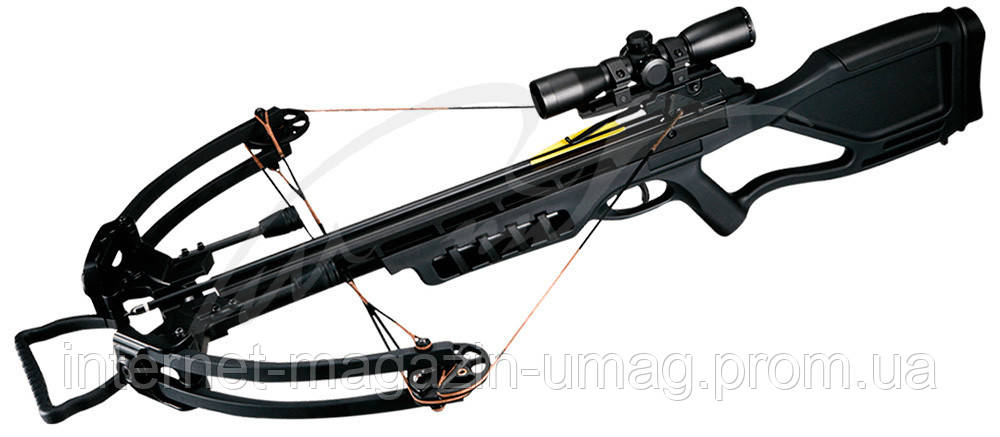 Арбалет Man Kung MK-380BK Gladiator черный