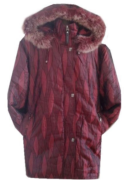 Куртка женская листики