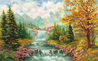 Набор для вышивки крестом Алиса 3-09 Горный водопад